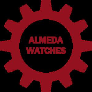 non hover almeda watches button