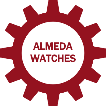 non hover almeda watches button