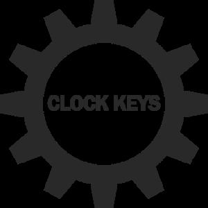 hover clock keys button