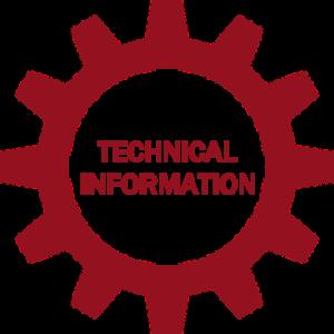 non hover tech information button