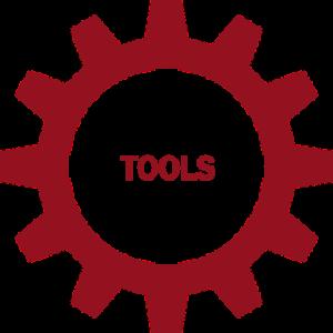 non hover tools button