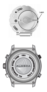 almeda watch battery change