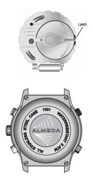 almeda watch battery change